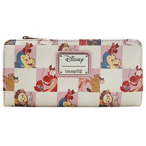 Disney BFF Character Rose Checker Wallet
